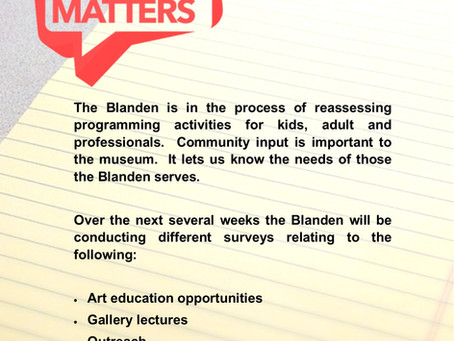 Blanden Art Education Survey