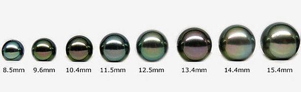 grosseur des perles de tahiti bijouterie st-arneault