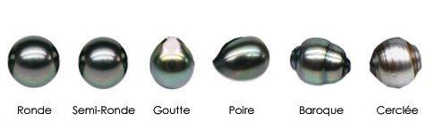 forme des perles de tahiti bijouterie st-arneault