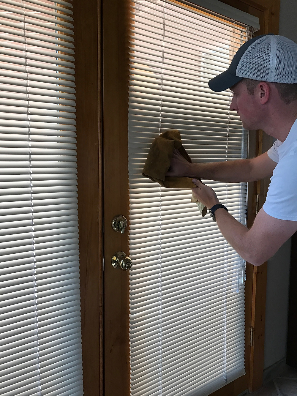 Drying Buffing Blinds