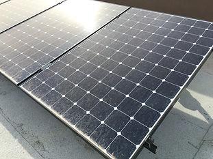Dirty Solar Panels
