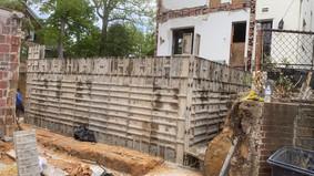 New Foundation Walls Preparation