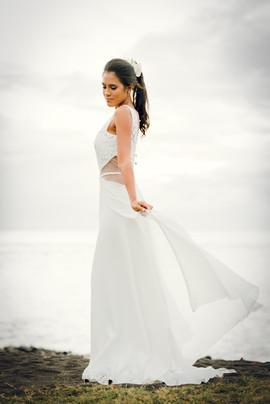 Wedding shooting concept - Tahiti Polynésie française