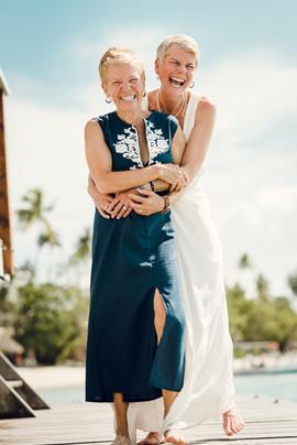 Lauri & Michelle - Moorea, Polynésie française
