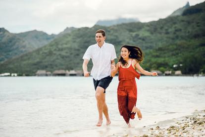 Saki & Bryan - Moorea, French Polynesia