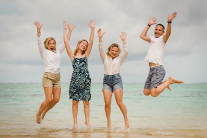 Julie DeFina Hart & family - Moorea, French Polynesia