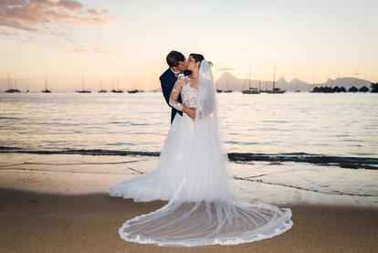 Florent & Julie - Tahiti, French Polynesia