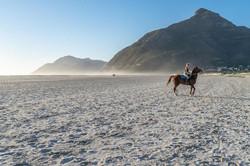 Horse-riding on Noordhoek Beach