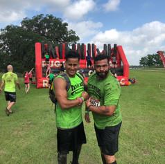 Josean and Josue at Rugged Maniac 5k Mud Run