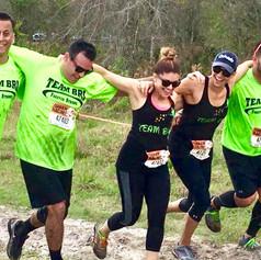Team Bri at Terrain Racing 5k mud run