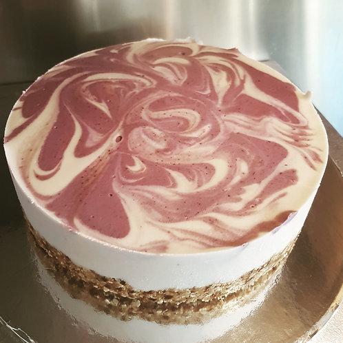Cherry Bakewell Cheesecake