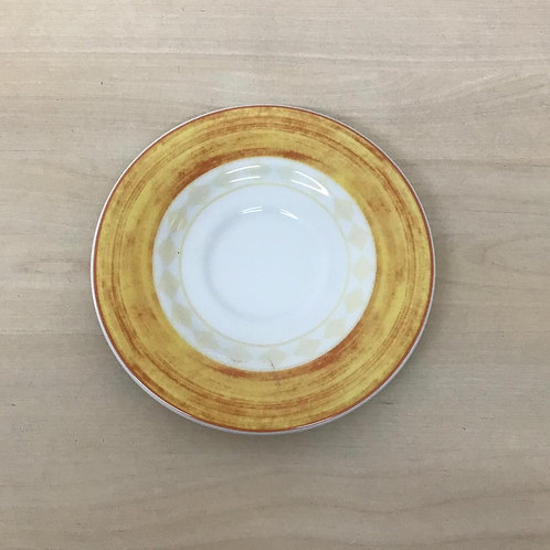 PLATO TAZA DE CAFÉ - COLECCIÓN AMARILLA