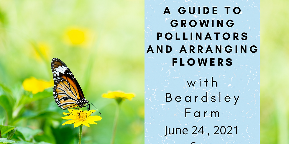 Take Action!: A Guide to Growing Pollinator Plants and Arranging Flowers with Beardsley Farm