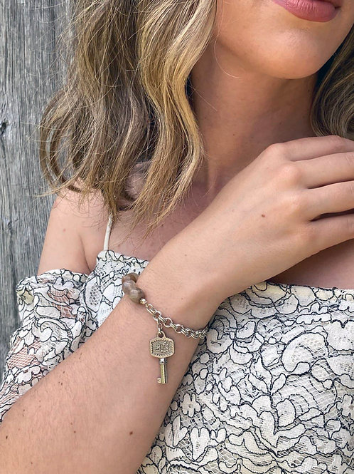 Sterling Silver Charm Bracelet - Josephine Bracelet