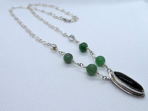 Sterling Silver Pendant Necklace - Lydia Necklace