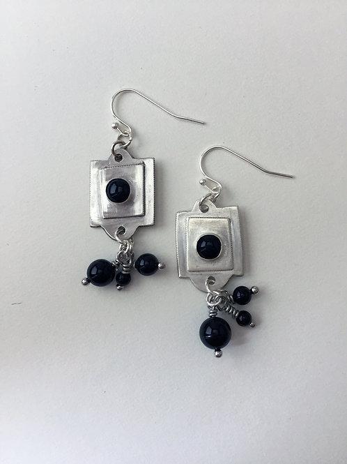 Sterling Silver Dangle Earrings - Elizabeth Earrings