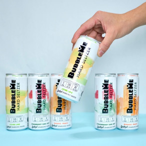 Meet BubbleMe Hard Seltzer, a Light, Alcoholic Sparkling Beverage Perfect For Summer Nights