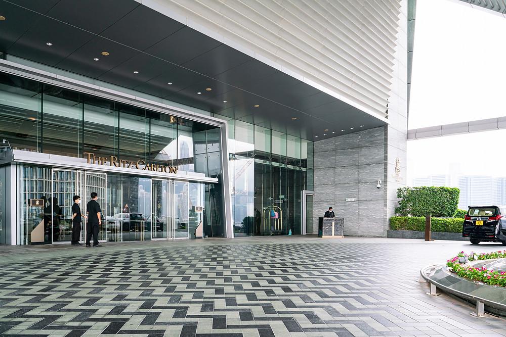 The Entrance at The Ritz Carlton, Hong Kong