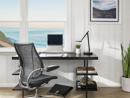 Sustainable Working From Home & Office Essentials With Humanscale