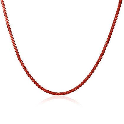 Gargantilla Cadena Red