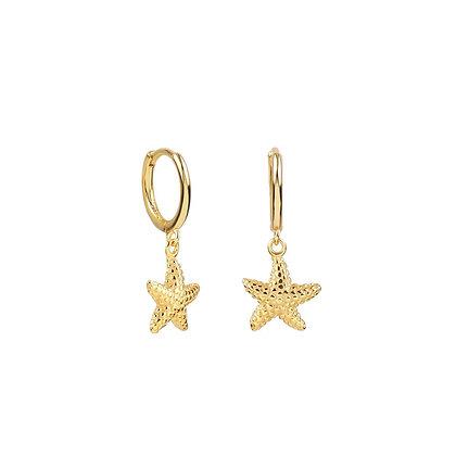 Pendiente Estrella de Mar