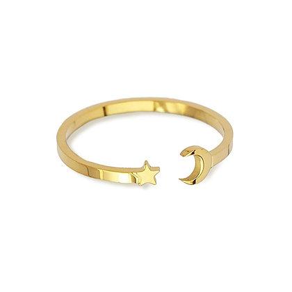 Anillo Moon Gold