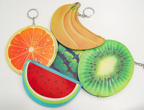 Monedero Llavero Fruit