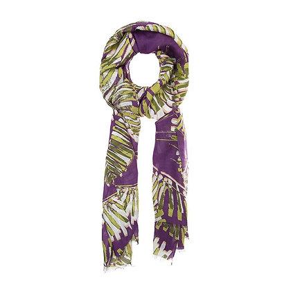 Foulard Palm Purple