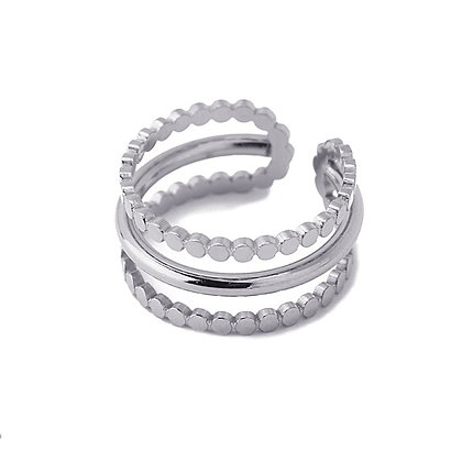 Anillo Triple Circulitos
