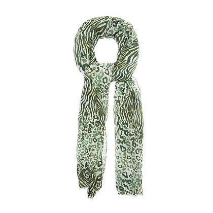 Foulard Print Green