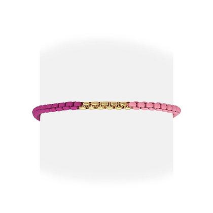 Pulsera Pink and Gold