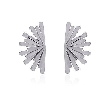 Pendiente Dandelion Silver