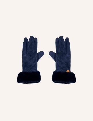 Guantes Pelo Dark Blue
