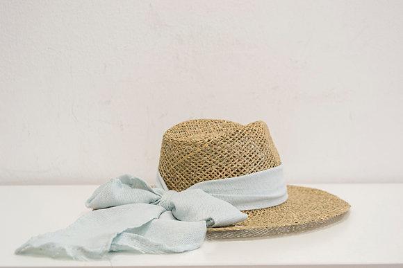 Sombrero Cinta Celeste