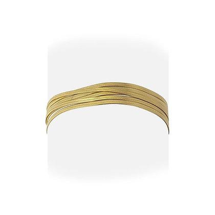 Pulsera Multiserpiente Gold