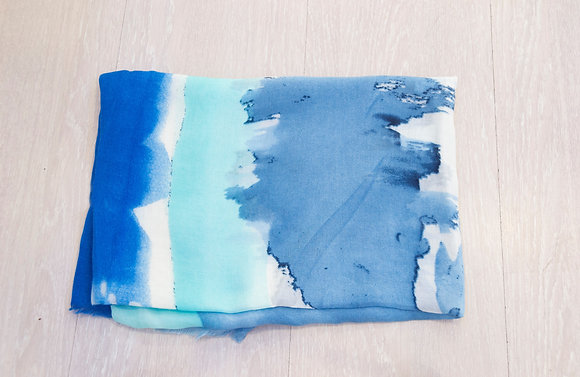 Pañuelo Tie Dye Blue