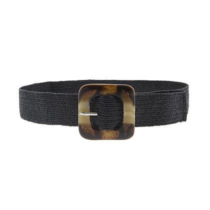 Cinturón Hebilla Square Black