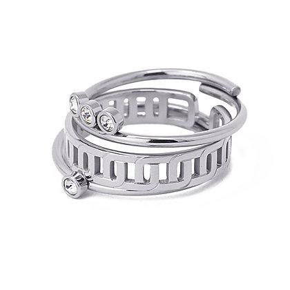 Anillo Three Rings Silver