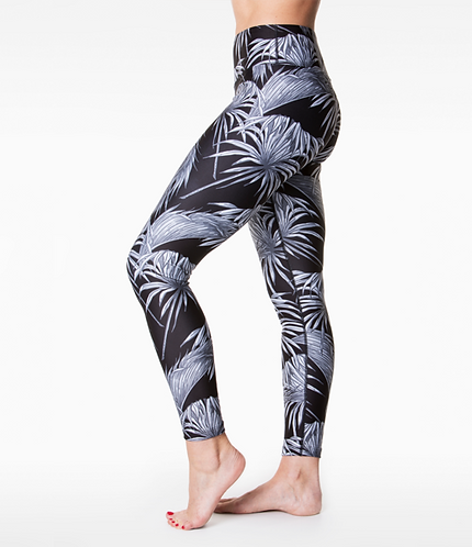 3/4 Length Mono Tropicano Loznpoz leggings*