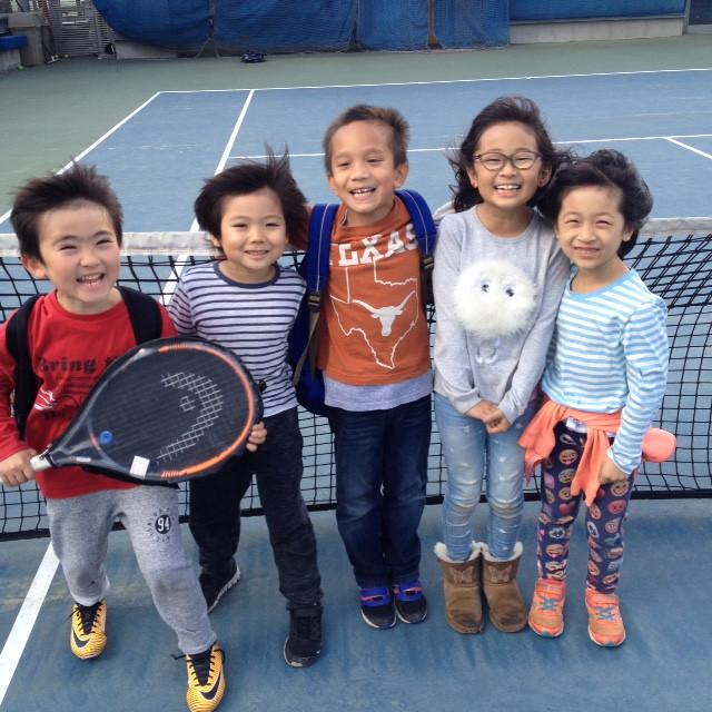 ASIJ allens winter class JPG   Tennis in Tokyo Roppongi