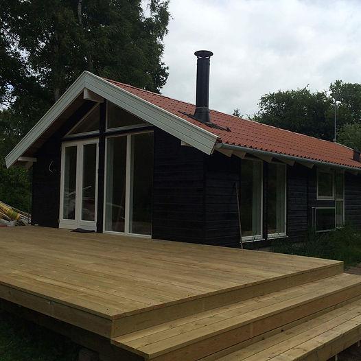 Nyt sommerhus enterprise - TQ Byg - tømrerfirma