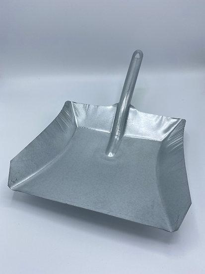 Kehrschaufel aus Stahlblech, verzinkt
