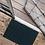 Thumbnail: Wohnmatte Blaupetrol 50x75cm