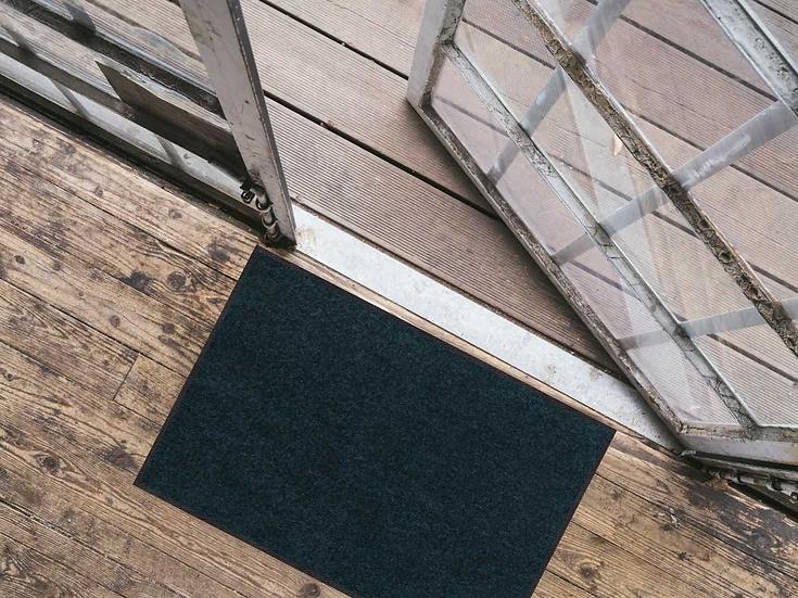 Wohnmatte Blaupetrol 50x75cm