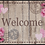 Thumbnail: Wohnmatte Welcome Roses 50x75cm