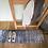 Thumbnail: Wohnmatte Ronny stripes grey 35x120cm