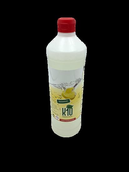 K10 Sanitärreiniger, Konzentrat, Verdünnung: von pur bis 1:50