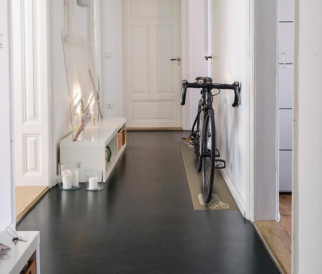Wohnmatte Bike Parking taupe 40x190cm