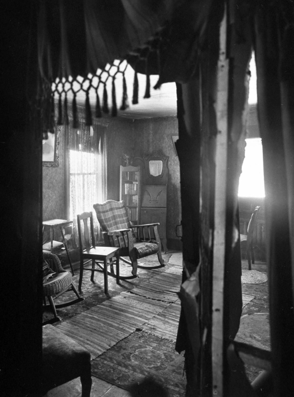 Augusta's room when opened by police