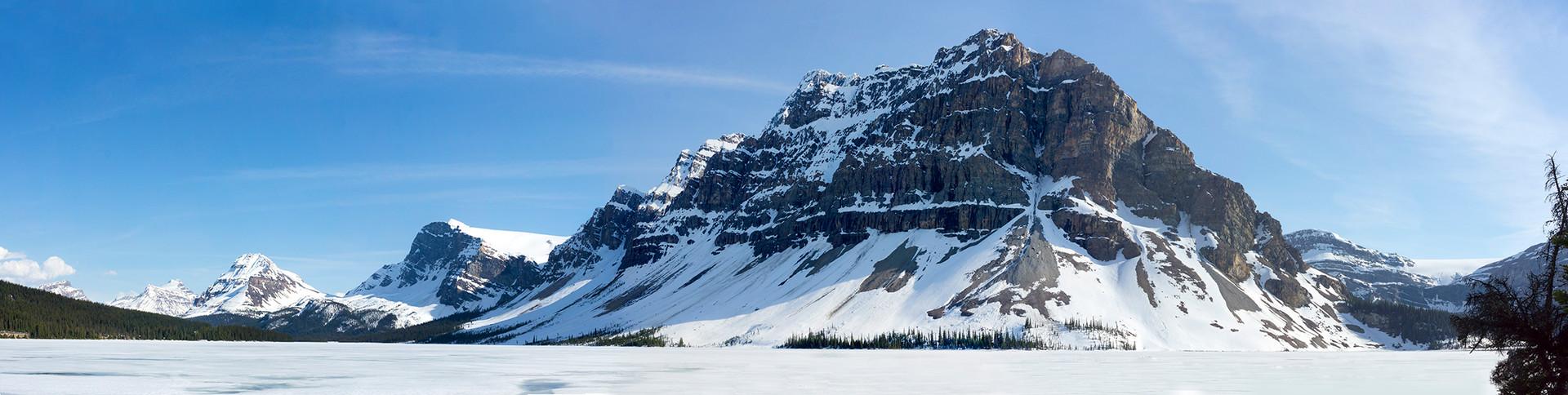Bow Lake Alberta Wilderness